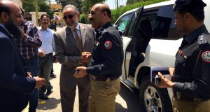 IGP Sindh Mr. A.D. Khowaja Visit CPLC CRC at Sindh Governor House