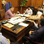 Consumers Rights Council CPLC Sindh had a meeting with Commissioner Karachi