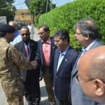Lieutenant General Naveed Mukhtar visited CPLC