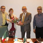 Italian Consul Ms. Anna Ruffinoalong visited CPLC